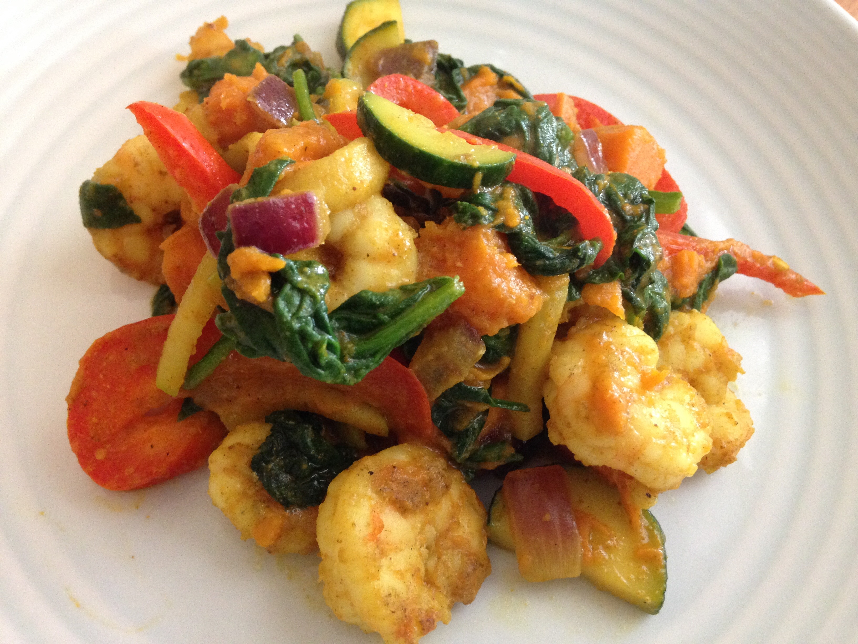 Paleo Coconut Curry